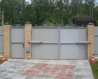 Подключение автоматических ворот (фото 3)