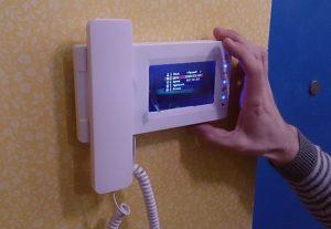 Установка видеодомофона в крартире (фото 2)