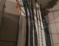 Монтаж электропроводки (прокладка кабеля)