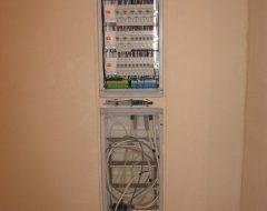 Установка электрощитов (фото 9)