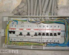 Установка электрощитов (фото 5)