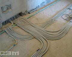 Монтаж электропроводки (фото 4)