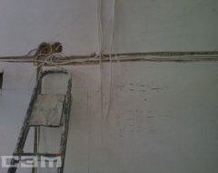 Монтаж проводки в доме (фото 5)