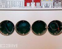 Установка розеток и выключателей (фото 2)