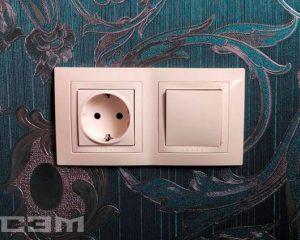 Установка розеток и выключателей (фото 1)