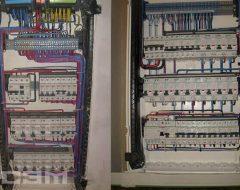 Монтаж автомата в электрощитке (фото 2)