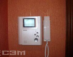 Установка видеодомофона (фото 9)