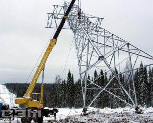 Строительство воздушных линий (фото 11)
