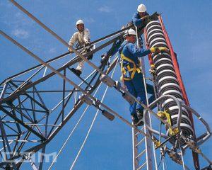 Строительство воздушных линий (фото 9)
