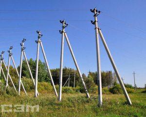 Строительство воздушных линий (фото 8)